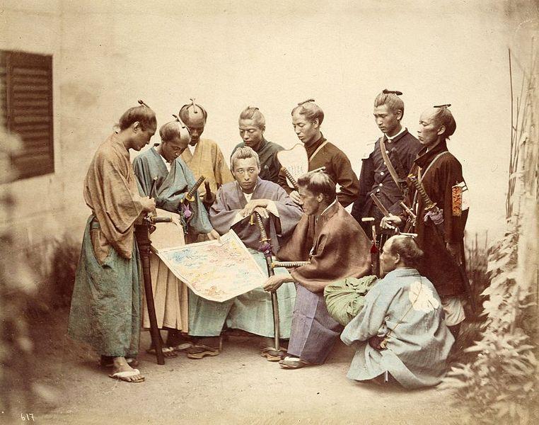 Satsuma samurai under boshin-perioden