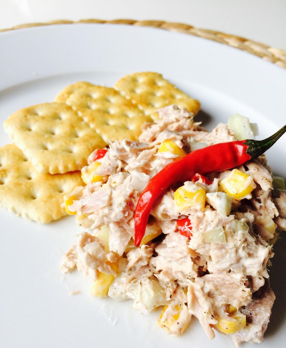 Favoritt tunfisksalat/ Favorite Tunasalad