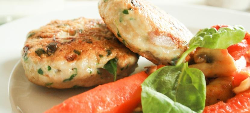 Hjemmelagde kyllingkarbonader