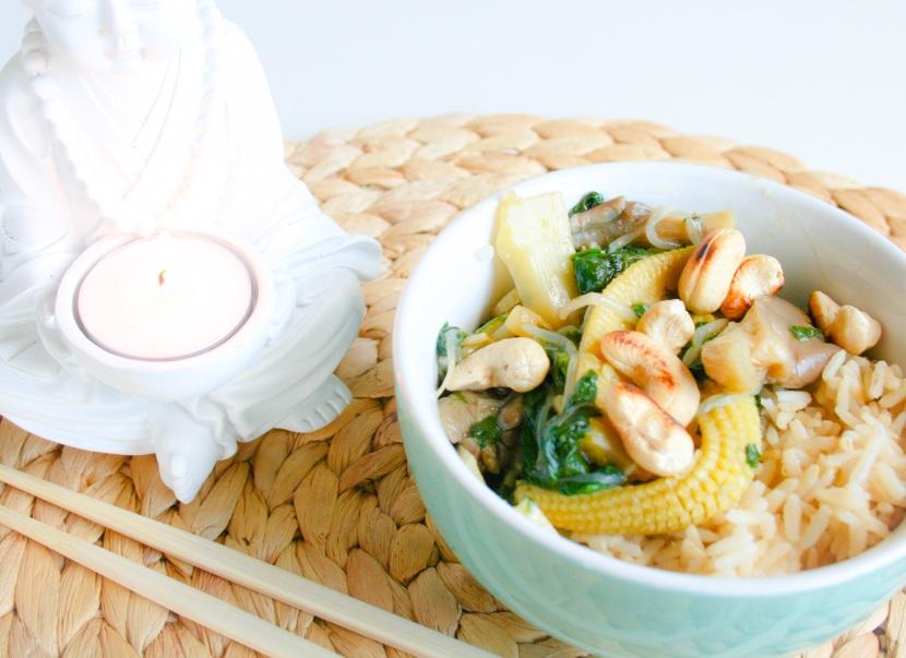 Asiatisk inspirert torsdagsmiddag (utenkjøtt)