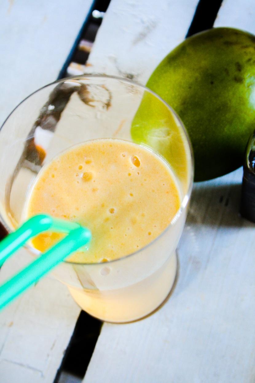 Eksotiskfrukt med vanilje-smoothie