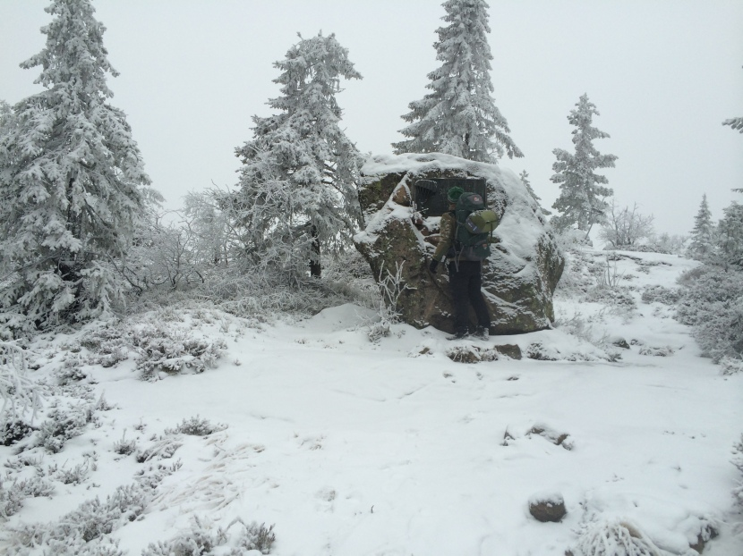 Redningsaksjon på fjellet
